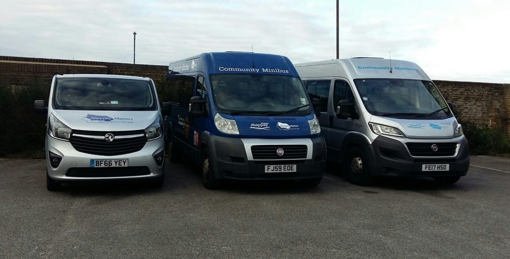 Sheppey Matters Three Community Minibuses